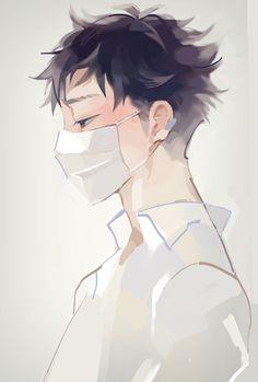anime, boy, and depressed image