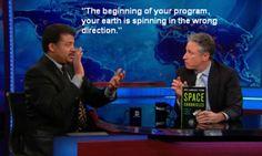 Jon Stewart gettin' schooled.