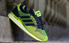 "adidas ZX 500 OG Weave ""Electric Green"""