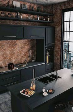 Impressive and Different Kitchen Design Photos No 1 – Home Design Ideas Küchen Design, Home Design, Home Interior Design, Interior Architecture, Design Case, Design Ideas, Kitchen Designs Photos, Best Kitchen Designs, Design Kitchen