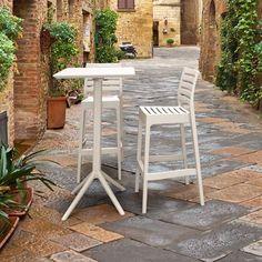 Outdoor Bar Sets, Patio Bar Set, Outdoor Dining Set, Resin Furniture, Bistro Set, Bar Stools, Backyard, Sky, Patio