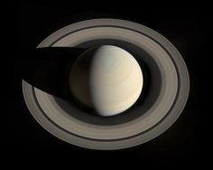 An Incredible View of Saturn that Could Only Be Seen by a Visiting Spacecraft