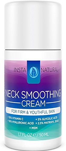 Neck Firming Cream - Best Daily Moisturizer for Wrinkles, Fine Lines, Saggy Skin and Chest - Smoothing and Tightening Lotion for Sagginess - With Vitamin C, Glycolic Acid & More - InstaNatural InstaNatural http://www.amazon.com/dp/B010OMOSVK/ref=cm_sw_r_pi_dp_WW.swb1VW2W1Q