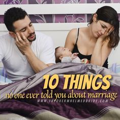 Here are 10 Things No One Ever Told Me About Marriage and I Wish They Had! Check it out!