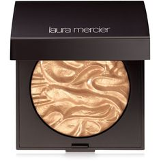 Laura Mercier Face Illuminator Powder ($44) ❤ liked on Polyvore featuring beauty products, makeup, face makeup, face powder, beauty, addiction, illuminating face powder and laura mercier