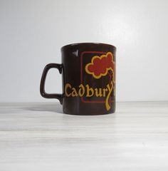 Vintage Cadbury's Mug by Kiln Craft - Made in England - Staffordshire Potteries