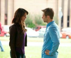 Elena Gilbert (Nina Dobrev) & Professor #TVD #Season5 #television #series #TheCW