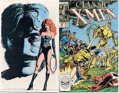 Classic X-Men # 24 by Kerry Gammill & Terry Austin/ John Bolton