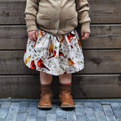 DIY: een rimpelrokje voor mijn herfstmeisje - Leuke wereld