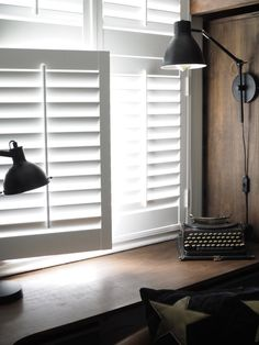 How Easy Is It To Install DIY Shutters? Let's find out by getting a 17 year old with no DIY skills to fit them. You'll be surprised just how easy it is! Cafe Shutters, Diy Shutters, Window Shutters, American Fridge Freezers, Cheap Windows, Shutter Blinds, Diy Blinds, Sash Windows, A 17