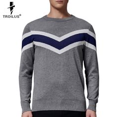 Find More Pullovers Information about Troilus 2016 New Arrival Hit Color Striped Patchwork Pullover Men O Neck Pull Homme Casual Knitted Cashmere Wool Sweater Shirts ,High Quality sweater deals,China sweater men Suppliers, Cheap sweater style from Troilus Flagship Store on Aliexpress.com