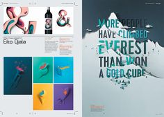 IdN v23n3: Type & Lettering in Posters on Behance
