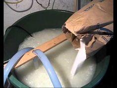 Der Zuckerfilm - Herstellung von Bienenfutter Zuckerwasser Futtersirup Sirup für die Bienen - YouTube