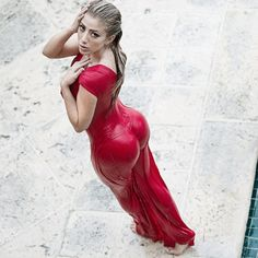 Valeria Orsini, Miss February. Voting ends February 24, 2016 at 11:59 pm ET. VOTE HERE -- http://placeitonluckydan.com/2016/01/vote-twitter-background-girl-2015/
