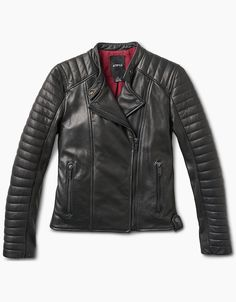 4c5320f71 Women's Motorcycle Jacket that serves as both a fashion piece and as a  technical riding jacket