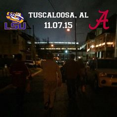 Beautiful night in Tuscaloosa! #RollTide #UniversityofAlabama #bryantdennystadium #bama #football