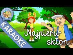 KARAOKE – Najpierw skłon – Wygibasy z naszej klasy - piosenka dla dzieci, dziecięce hity! - YouTube