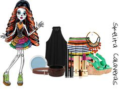 """Skelita Calaveras"" by urr-katherine on Polyvore"