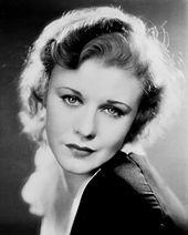 Ginger Rogers- Really good actress!  Love her movies, with and without Fred Astaire!