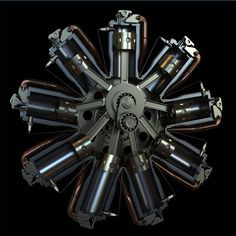 Ready to push — piperguru: The inner workings of a radial engine