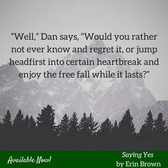 My m/m novella, Saying Yes, is out now!
