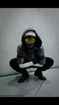 Such a cool Ticci Toby cosplay