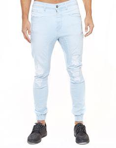 Park Ltd. Destroy Pursuit Jogger Jeans | Men's Jeans | Hallenstein Brothers