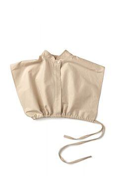 Light beige cropped cotton silk shirt | Nehera.com