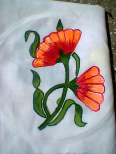 Fabric Painting by Ankita Yadav ,Student tex. Des.