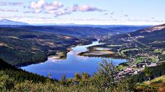 Åre, a villlage in the mountainous regions of Jämtland. Great skiing but equally great in the summer for hiking, biking and canoeing.