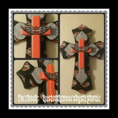 Harley Davidson Cross...Kustom Krosses By Stephanie