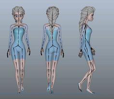 The last couple of months I've been working on rebuilding Elsa from Disney's Frozen. Maya Character Modeling, Maya Modeling, Brittney Lee, Decorative Screen Panels, Learn Animation, Paper Dolls Book, Elsa Frozen, Disney S, Comic Books Art
