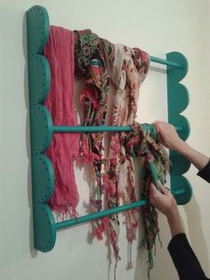 Make it mine - Drying rack further out from the wall