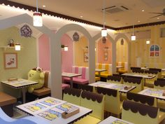 Pompompurin Cafe at Yokohama