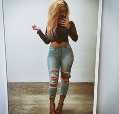 Love her jeans