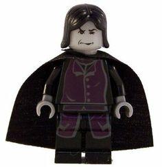 Professor Snape - LEGO Harry Potter Figure by LEGO. $11.95. Lego. Lego minifigure toy