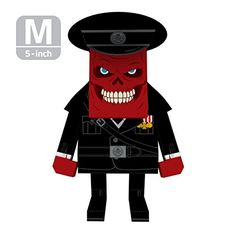 MOMOT Paper Craft Toy  MARVEL Captain America RED SKULL 5inch M Size 13cm *** Check this awesome product by going to the link at the image.