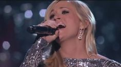 Carrie Underwood with Vince Gill How Great thou Art - 720P HD - Standing...