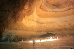 Benagil cave story! – Eat, Click, Travel and Repeat! Cave Story, Algarve, Antelope Canyon, Kayaking, Repeat, Swimming, Beach, Places, Nature