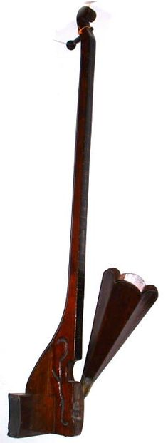 Wooden one string phonofiddle c1910