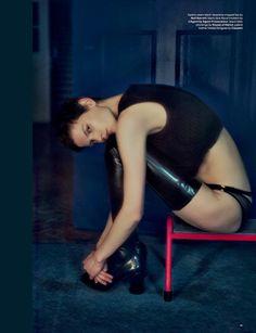 Saskia de Brauw LOVE #12 F/W 2014 by Drew Jarrett