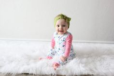 Toddler Romper - Field of Flowers - Personalized Rompers / Playtime Outfits / Baby Romper / Toddler Outfit / NO snaps, buttons or zippers