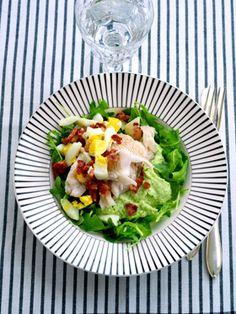 Fedfattig og sund fisk med kål