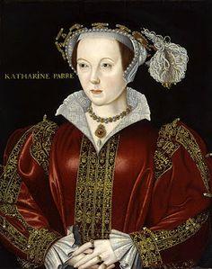 Retrato de Lady Katherine Parr (1512-1548), Reina Vda. de Inglaterra y luego Lady Seymour.