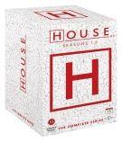 House M.D - Complete Box Season 1-8 (46 disc)  (DVD) 99,95€