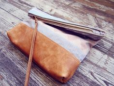 love this little leather/navajo purse
