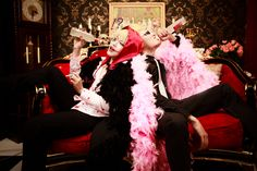 Drinking with my brother - Sham Fung(玄封) Corazon, SJJ(SJ) Donquixote Doflamingo Cosplay Photo - WorldCosplay