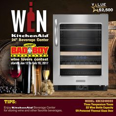 KitchenAid Wine Lovers Contest!! bring on the snacks and friends !