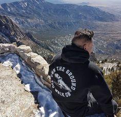 Own The Ground You Walk On - Streetwear. Hoodie. Staffy design. Photography. Sandia Mountains. Albuquerque, New Mexico.  Link to shop: https://ownthegroundyouwalkon.com/