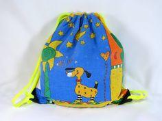 Narureppu vanhasta tyynyliinasta DIY Drawstring Backpack, Backpacks, Bags, Fashion, Handbags, Moda, La Mode, Drawstring Backpack Tutorial, Women's Backpack